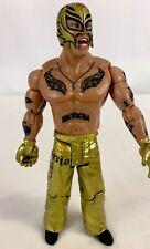 2005 WWE Rey Mysterio 619 Gold Pants Jakks Wrestling Figure 2589RL01N