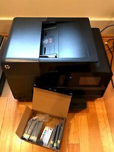 HP Officejet Pro 8625 Inkjet All-in-One Printer W/ NEW INK - See Description!