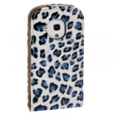 Samsung Galaxy S3 mini Leopard blau Business Case