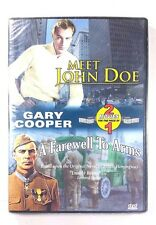 Meet John Doe / A Farewell To Arms 2004 by Miracle Pictures NEW - Ships Fast