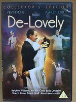 Kevin Kline Ashley Judd DE-LOVELY ~ 2004 Cole Porter Drama ~ UK DVD