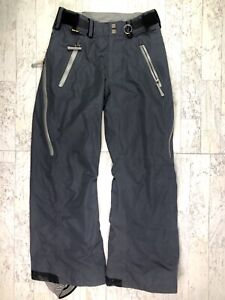 Bonfire Sundown Pant Gore-tex taped vents mesh lined gray womens M ski snow