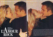 COUPURE DE PRESSE CLIPPING 1993 ESTELLE & DAVID HALLYDAY (4 pages)