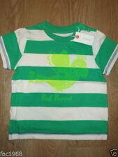 Chemises, débardeurs et t-shirts vert pour garçon de 0 à 24 mois en 100% coton