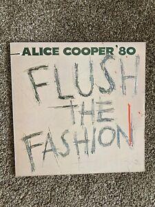 Alice Cooper - Flush The Fashion - Vinyl LP - BSK 3436 - EX/EX