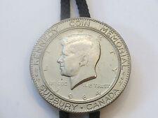 John F Kennedy 1964 Sudbury Canada Memorial Half Dollar Coin Bolo IC Lot 18