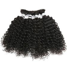 Remy Brazilian Braid in Hair Weave Bundles 100g Kinky Curly Crochet Human Braid