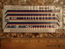Distinctive MARC (Maryland Rail Commuter) blue, orange, & white decals, HO-scale