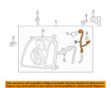 GMC GM OEM 07-14 Yukon XL 1500 Headlight Head Light Lamp-Socket & Wire 15782378