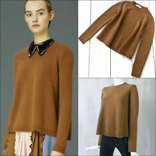 $1400 NEW Valentino Ladies Flared CASHMERE Knit Jumper Sweater Pullover Size S