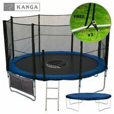 Kanga 12ft Trampoline With Enclosure Ladder Anchor Kit Inc