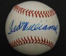 Ted Williams (d.2002) Boston Red Sox HOF Autographed Signed OAL Baseball JSA LOA