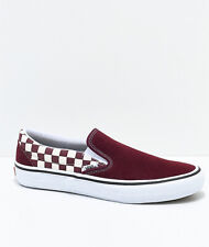 Vans Classic Slip ON PRO Multi Checker Port Royale Men's Shoes 8