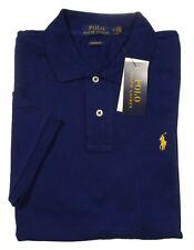 Polo Ralph Lauren Men's Blue Classic Fit Mesh Short Sleeve Polo Shirt