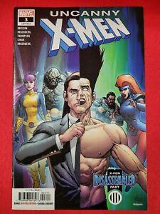 Uncanny X-Men V.5 #3- 1st Print, CVR A Leinil Francis Yu Variant, 2019! VF/NM