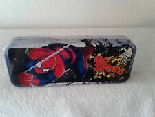The Amazing Spider-Man Tin Catch All Pencil Case Style B, NEW UNUSED MARVEL 2014