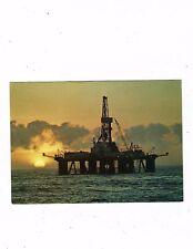 POST CARD COLOUR PHOTO BP EXPLORATION IN THE SANTOS BASIN BRAZIL