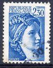 STAMP / TIMBRE FRANCE OBLITERE N° 2156 TYPE SABINE