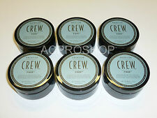 6 X American Crew FIBER 3 oz EACH SHIP TO INTERNATIONAL