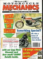 Classic Motorcycle Mechanics magazine mint condition Oct 1996 No.108