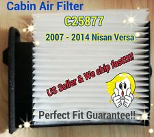 C25877 For Versa Cabin Filter (07-12) HIGH QUALITY Fast and Free Ship!!(^o^)/