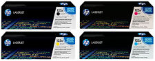Original HP 125A 4 Toner Set Rainbow Kit Color LaserJet CM1312 CP1513 CP1518