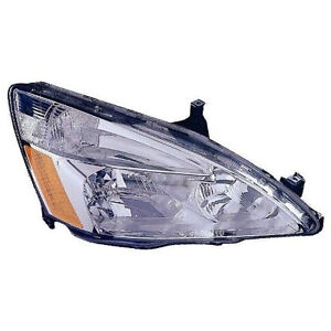 DEPO 3171131RAS Right/Passenger Side Headlight Assembly 2003-2006 Honda Accord