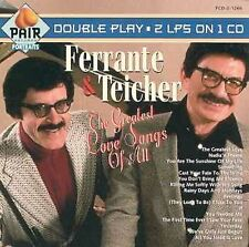 The Greatest Love Songs of All by Ferrante & Teicher (CD, Dec-1990, Pair)