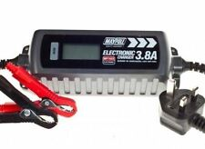 New MAYPOLE 7423 Electronic Car Battery Charger 3.8 A Fast/Trickle/Pulse Modes