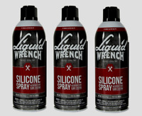 3 LIQUID WRENCH SILICONE SPRAY MultiUse Lubricant Lube Waterproof Stop Rust 11oz
