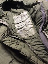 (4) Used Army Surplus US Military Surplus Genuine Very Cold Weather Sleeping Bag