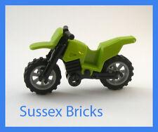 LEGO-Lime MOTO DA CROSS MOTO MOTOCICLETTA MOTOCROSS-City-in buonissima condizione