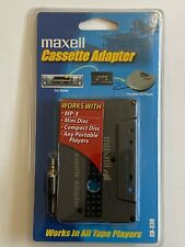 Maxell Cassette Adapter For Car Stereo CD-330 NEW