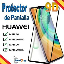 Protector Pantalla Huawei Mate 10/10Lite Mate 20/20Lite Cristal Templado 9D 9H