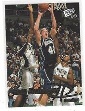 1999 PRESS PASS BASKETBALL GOLD ZONE EVAN ESCHMEYER #27 - NORTHWESTERN