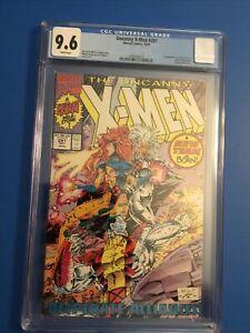 The Uncanny X-Men #281 CGC 9.6 Debut of Gold Team Portacio Art