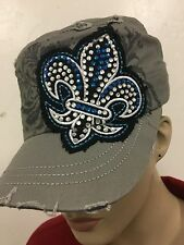 COWGIRL BLING HAT CAP LADIES WOMANS SAINT CADET WESTERN LEADER FREE SHIPPING