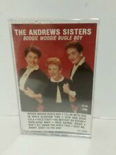 The Andrews Sisters Boogie Woogie Bugle Boy Cassette Tape Audio Music Swing New