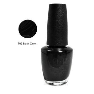 OPI Nail Polish T02 Black Onyx 0.5oz