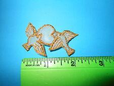 Dove Birds w/Heart, 1.5 Embroidery Applique Patch Liquidation (66 Doz)*.05 Ea