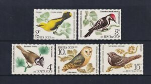 Russland - 1979, Vögel Set - MNH - Sg 4922/6