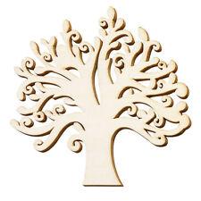 Holz Stammbaum Form Hohl Design Weihnachten Handarbeiten Hochzeits Karte Deko