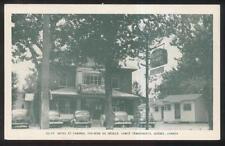 Postcard QUEBEC/CANADA  Ste-Rose Du Degele Hotel & Cabins 1940's