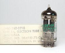 Sylvania 5814A / 5814 A / E82CC Audio-Röhre, Made in USA, NOS