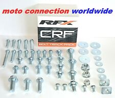 RFX CRF250 CRF450 CRF Track Pack OEM type bolts & fasteners kit in storage box