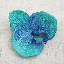 Wholesale 5-100pcs Silk Orchid Artificial Flower Heads Wedding DIY Party Decor