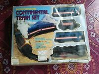 Pista treno locomotiva continental train set