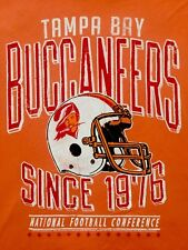 Junk Food Tampa Bay Buccaneers World Champ NFL Made In USA Adult Rare T-shirt M