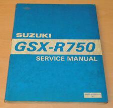 Werkstatthandbuch  Wartungsanleitung SUZUKI GSX-R750 (1995) Service Manual Buch