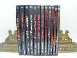 Lot 12 livre NEUF DEGLIAME Cadran Bleu Philippe ÉBLY Fantastique Science Fiction